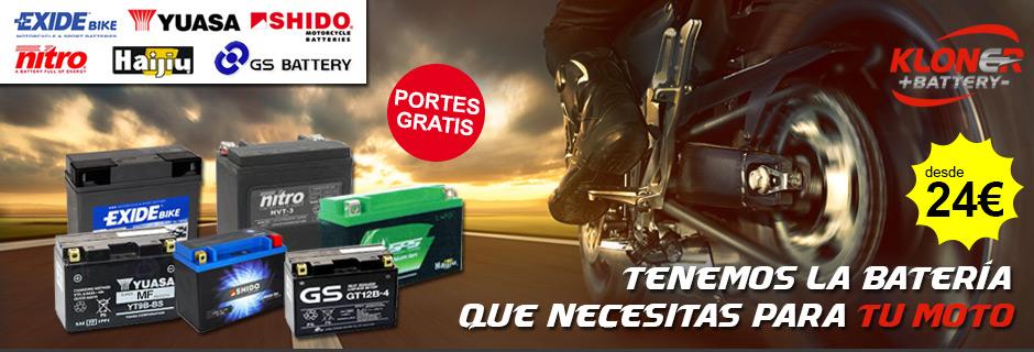 Baterias Exide Bike