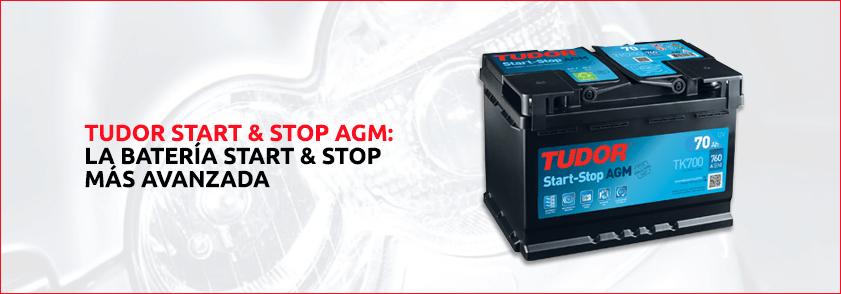 Baterias TUDOR- EXIDE AGM sistema STOP & START