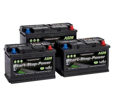 Baterias INTACT AGM sistema START & STOP