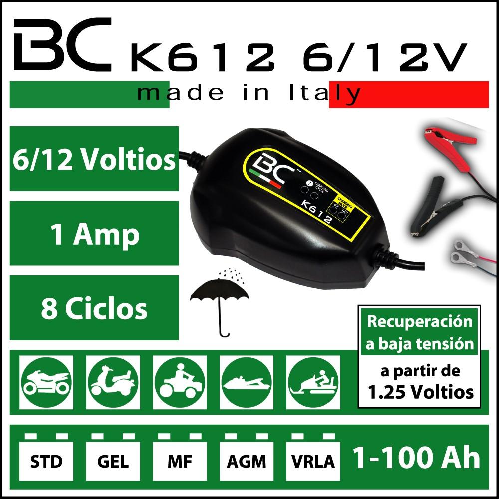 CARGADOR BC K612 | PARA MOTOS | ¡¡OFERTA!!