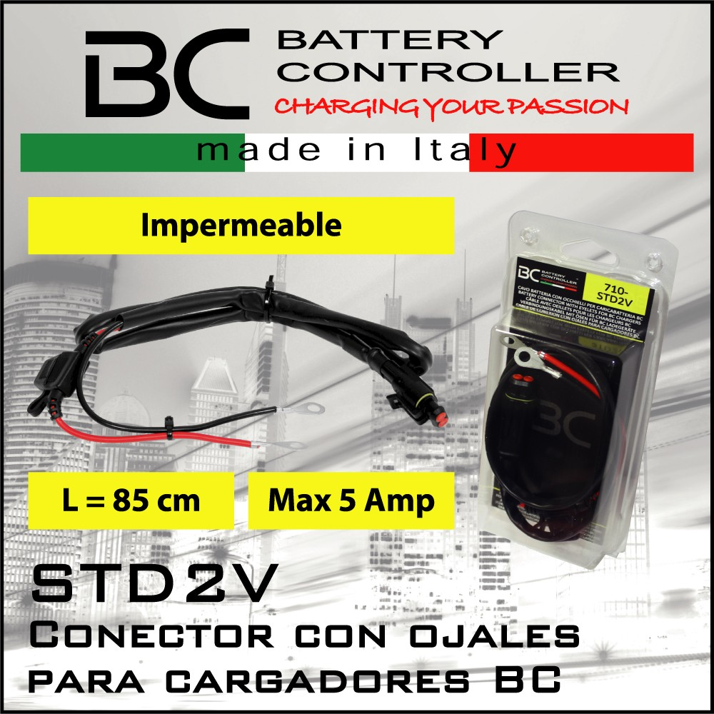 Cable de ojal BC battery controller STD2V