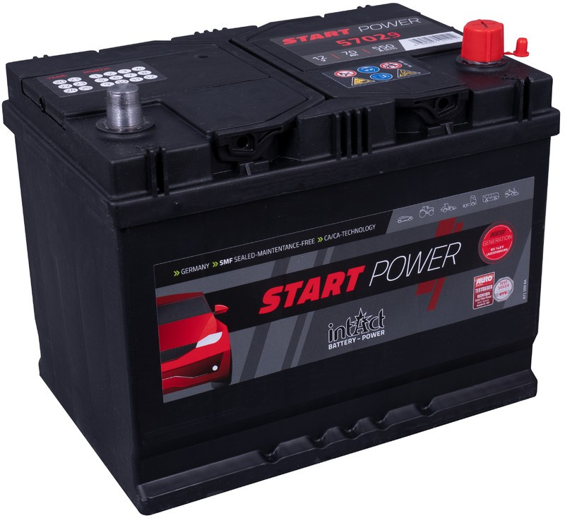 Intact power 70ah   550A   3 años de garantia.