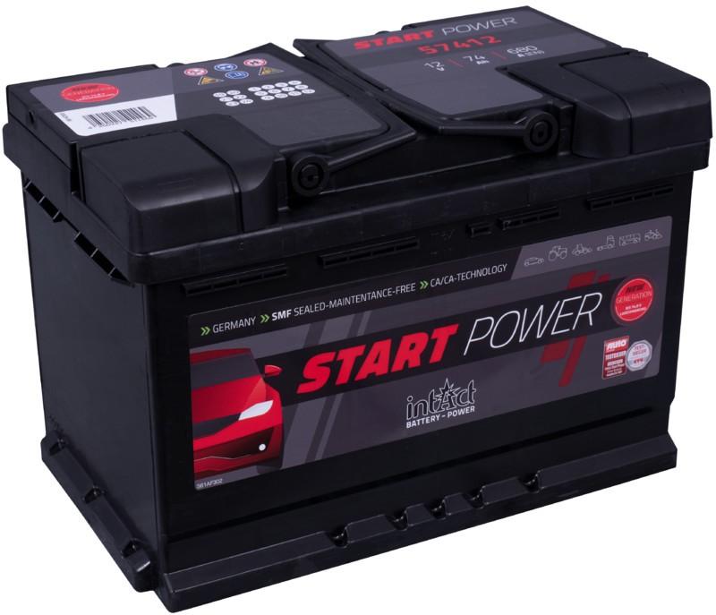 Intact power 74Ah | 680A ¡Oferta! 3 años de garantia.