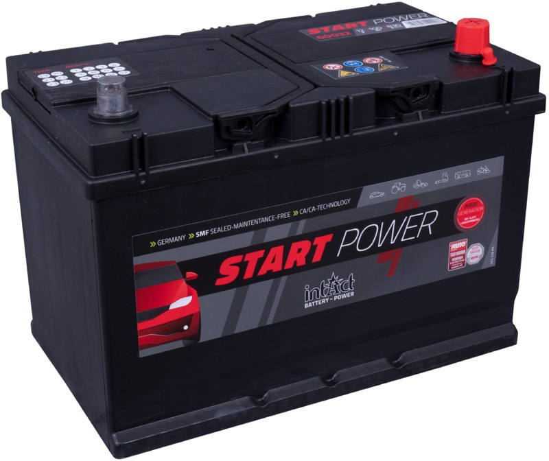 Intact Start power 100ah 830A | 3 años de garantia.