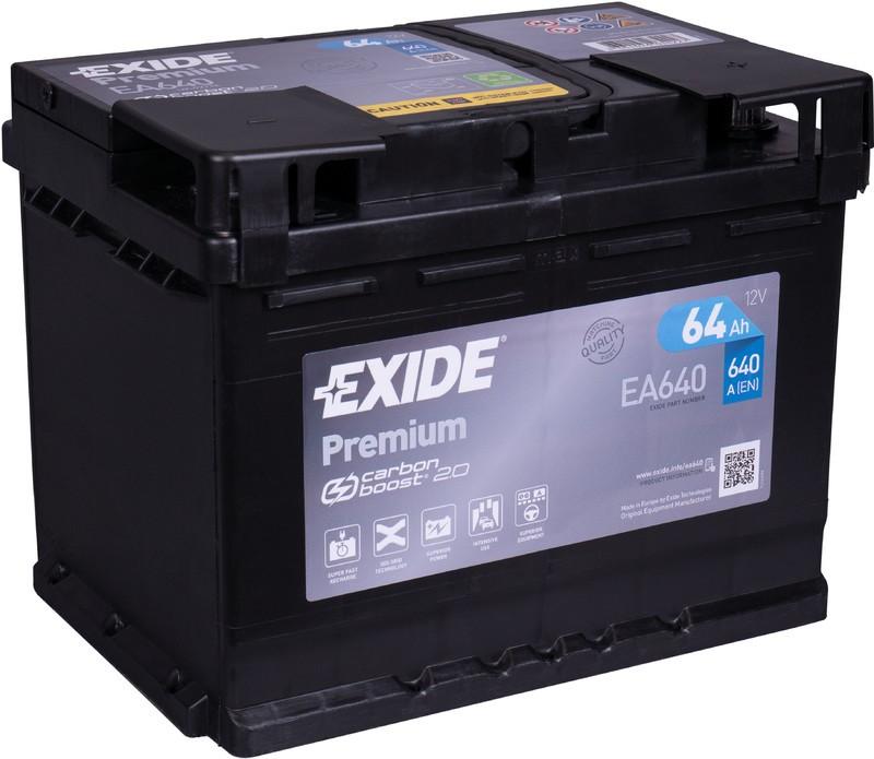 EXIDE EA640   64ah 640A   GAMA ALTA ¡¡OFERTA!!