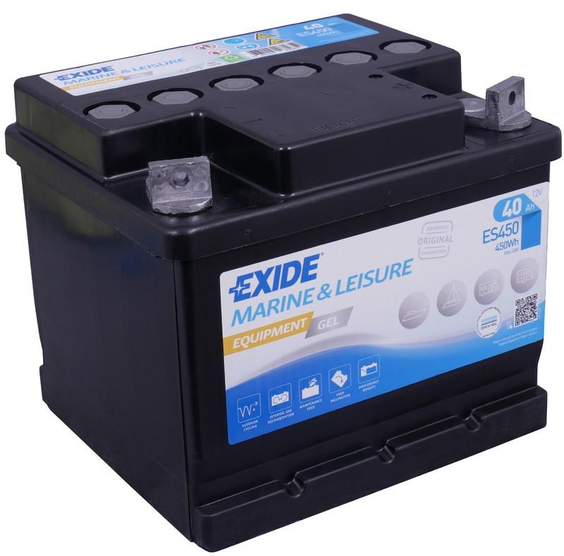 Exide Gel ES450 40Ah