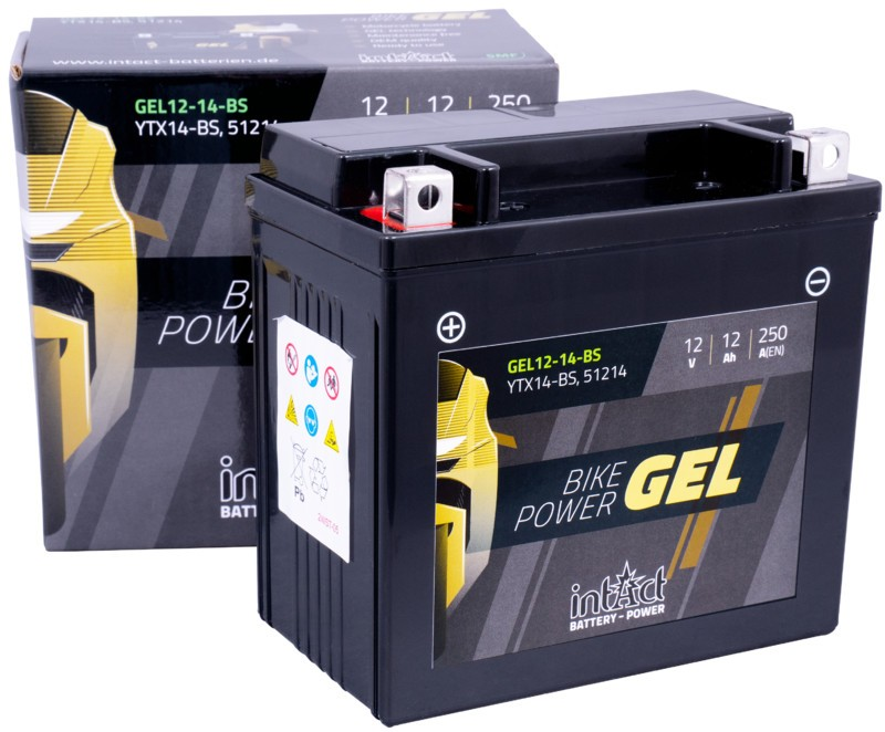 INTACT GEL YTX14-BS | 12Ah 250A 12V