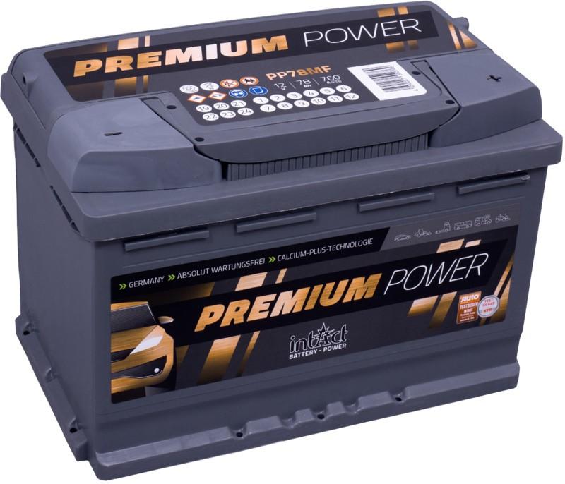 Premium-Power 78ah 760A / Gama Alta / 3 años de garantia. ¡¡Oferta!!