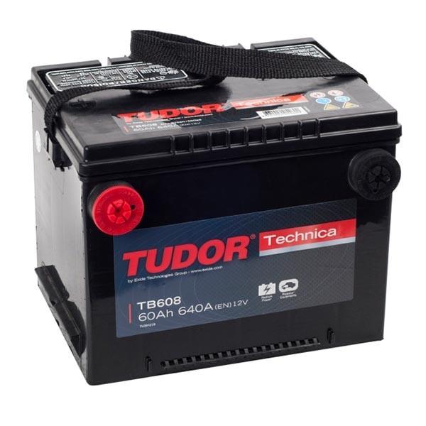 Tudor  TB608 60ah 640A | Valido chrysler Stratus, vehiculos Americanos, etc