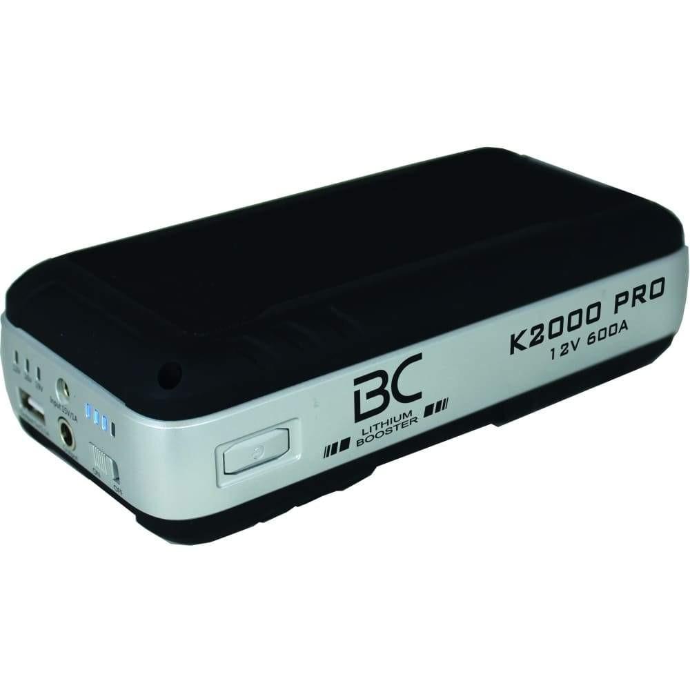 Arrancador BC K2000 Pro 600A ion de litio LiFePO4 (arrancador & cargador USB)