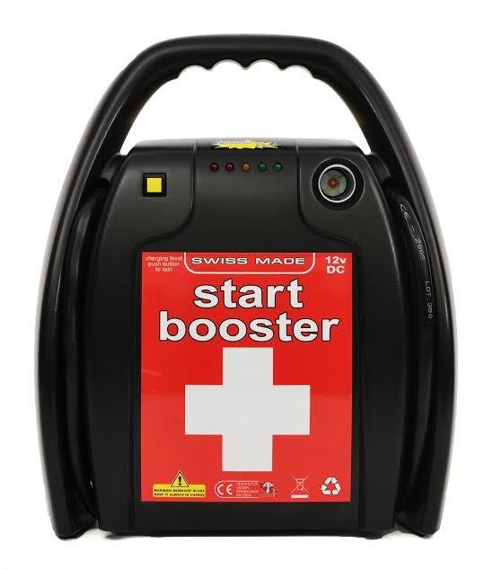 Booster P18- 12V- 1400/ 350A / 1600A pico de Intensidad de arranque.