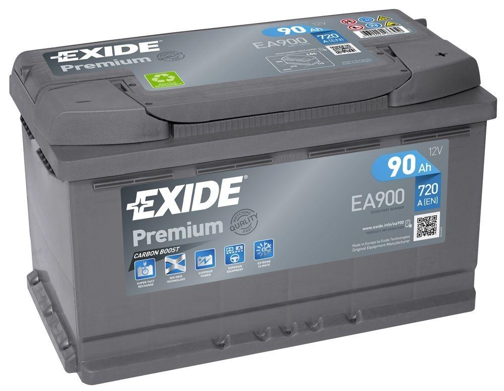Exide EA900 | 90Ah 720A | Gama Alta. ¡¡ Oferta!!