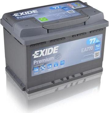 Exide EA770 | 12V 77Ah 760A Gama alta ¡¡Oferta!!