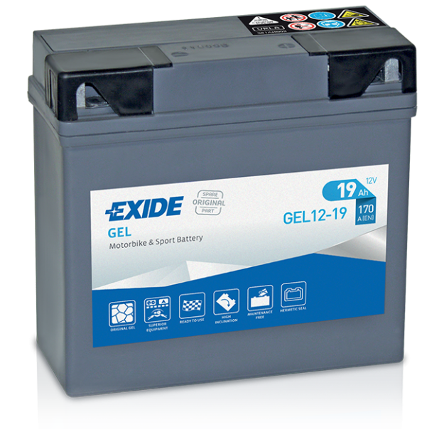 Exide gel 12-19 BMW