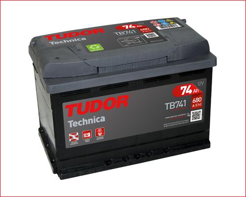 Tudor TB741   74ah 680A + Izquierda