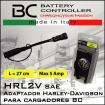 Cable adaptador Harley Davidson para cargadores BC Battery controller