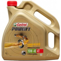 Aceite Castrol Power1 10w40 Motos 4T - 4L Portes incluidos
