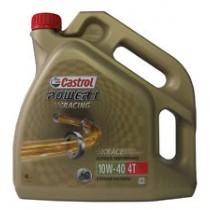 Aceite Castrol Power1 Racing 10w40 Motos 4T. 100% Sintetico - 4L Portes incluidos