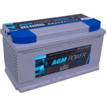 Intact AGM 90Ah | bateria auxiliar | 2 años de garantia.