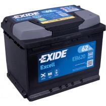 Exide EB620 | 12V 62Ah 540A