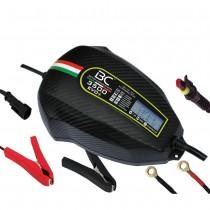 CARGADOR BC 3.500 EVO 12V | LCD DIGITAL (Para todo tipo vehiculos + comprobador de baterias)
