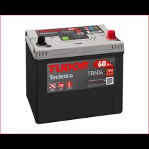 Tudor TB604 60ah 12V | 390A