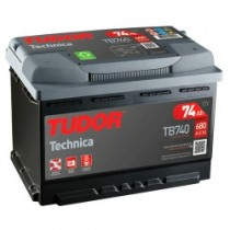 Tudor TB740 | 74ah 680A 12V ¡¡Oferta!!