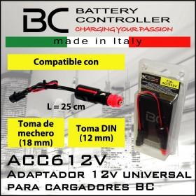 Cable mechero -cam-bus para Cargadores BC